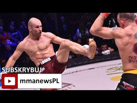 KSW 38: Łukasz Bieńkowski pokonał Chmielewskiego decyzją sędziów (+video)