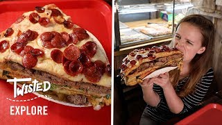 We Tried A Pizza Burger | Episode 11 | Twisted Explore