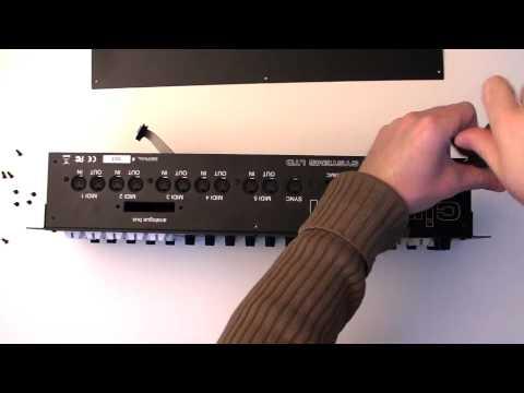 Cirklon tutorial 1 - desk to rack conversion