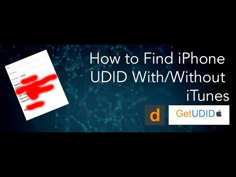 How To Find iPhone UDID With or Without iTunes