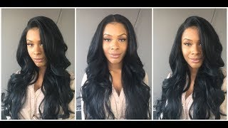 Bobbi Boss Human Hair Blend Lace Front Wig - MBLF360 Dinah