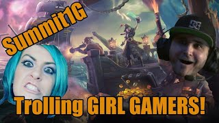 Summit1G Trolls GIRL GAMERS on Sea of Thieves | Hilarious | Twitch Clip