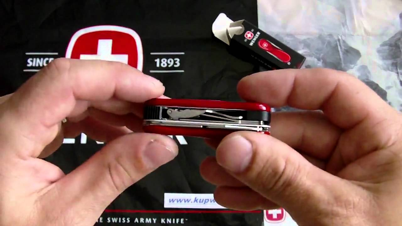 Wenger Nail Clip 580 Clipper Youtube