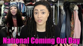 #NationalComingOutDay - Coming Out Story (updated)