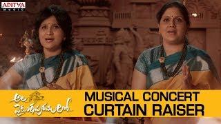 Ala Vaikunthapurramuloo - Musical Concert Curtain Raiser, ..