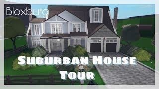 Bloxburg | Suburban House Tour
