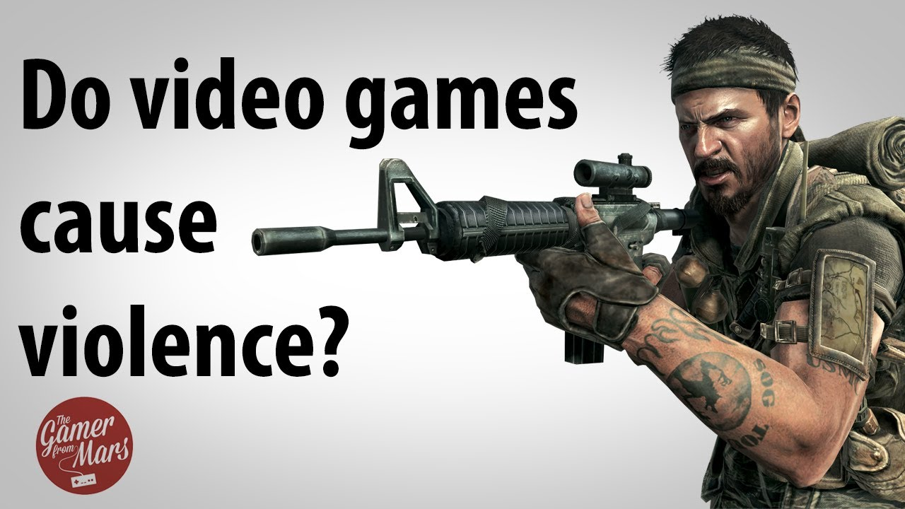 Does violent video games cause violence essay