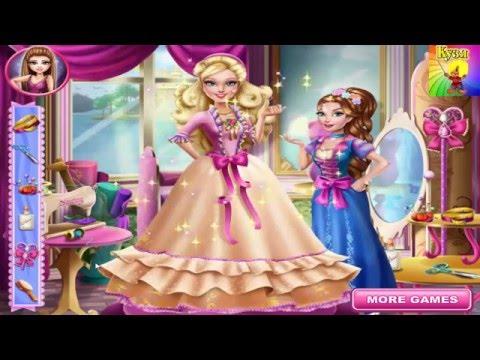 Одеваем принцессу! Развивающие мультики для девочек! Детские мультики!