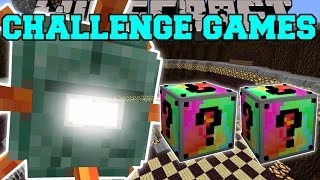 Minecraft: TITANIC GUARDIAN CHALLENGE GAMES - Lucky Block Mod - Modded Mini-Game