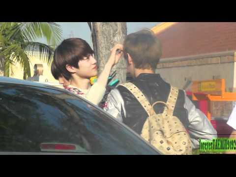05.19.12 EXO -- Leaving Disney Land 4/5