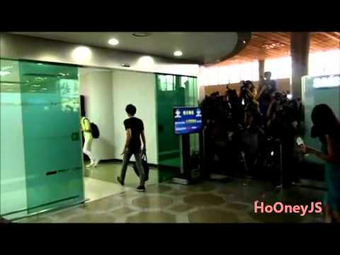 [Fancam] 120803 EXO at Gimpo Airport Heading to Japan