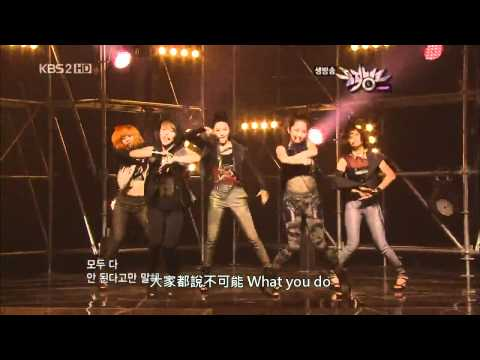[LIVE 中字] 4Minute - Who's Next (Ft. BEAST) + Huh (Hit Your Heart)  10.05.21