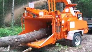 Машина для уничтожения деревьев