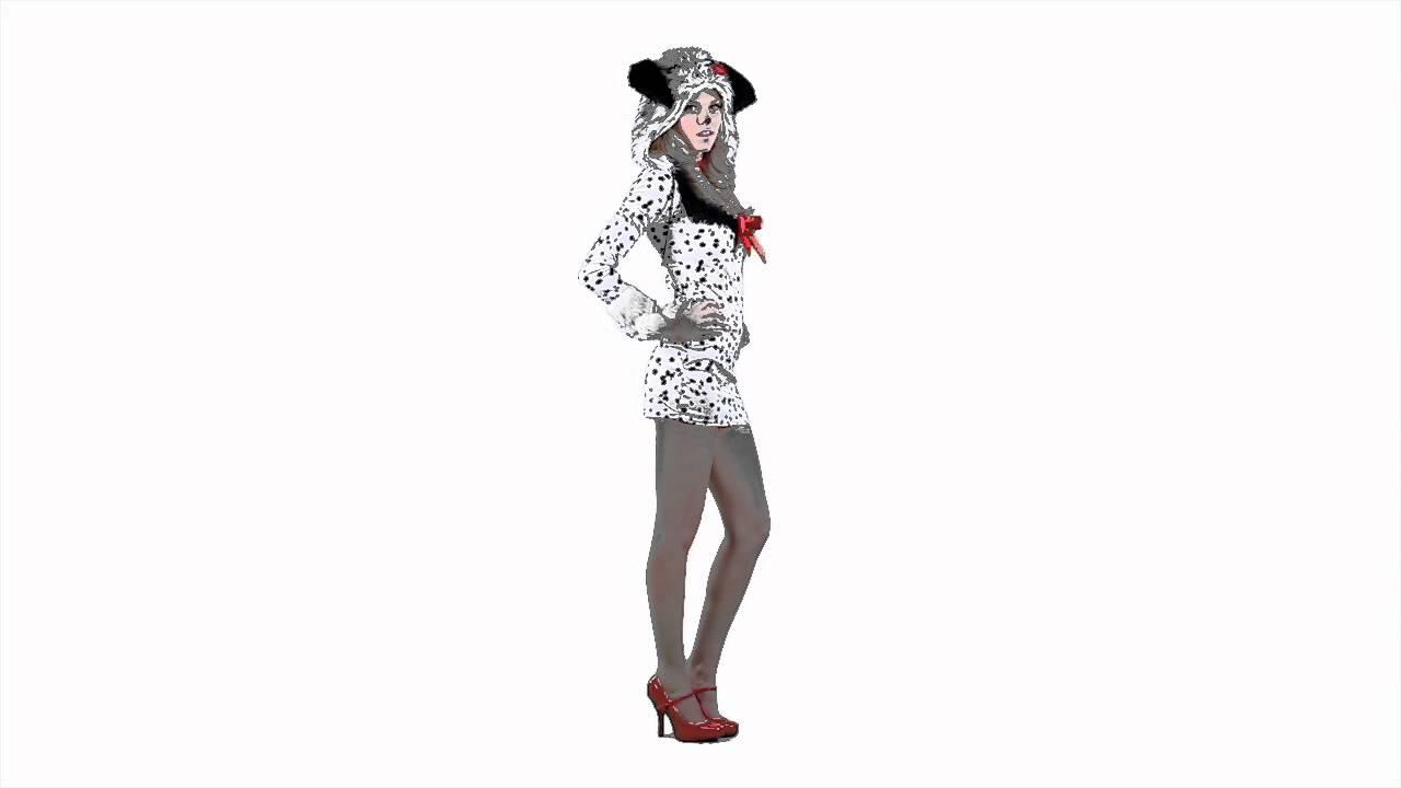 Adult Dalmation Costume 42