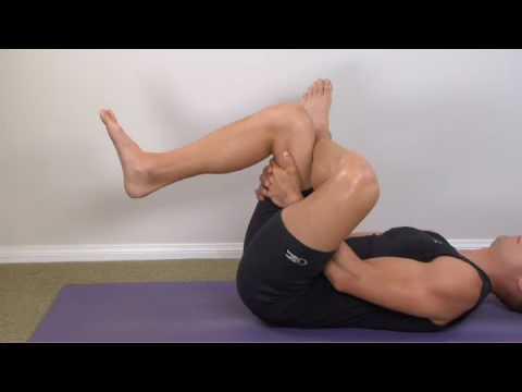 302 hip external rotation piriformis stretching  youtube