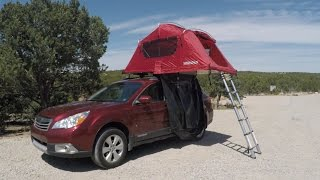 First Impressions: Yakima SkyRise 3 Rooftop Tent