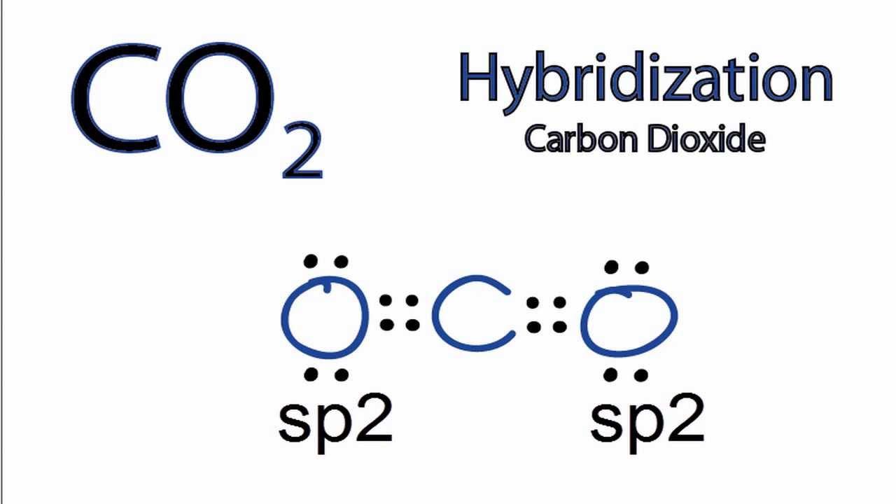 co2 hybridization hybrid orbitals for co2 youtube