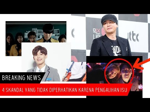 Berikut 4 Skandal Yang Teralihkan Perhatiannya Karena Kasus Babang 'Seungri dan Oppa Jung JoonYoung