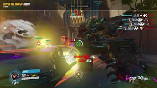 Moira Combo with Zarya I killed Tracer too btw