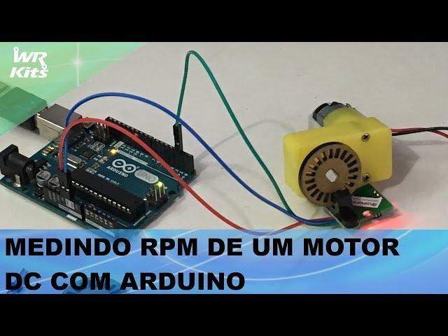 MEDINDO RPM DE MOTOR DC COM ARDUINO