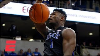 Zion Williamson, RJ Barrett lift Duke vs. Pitt | College Basketball Highlights