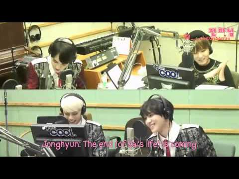 [ENG SUB] 131031 SHINee's Taemin calls EXO's Kai on Sukira CUT by: @__cheonsanim
