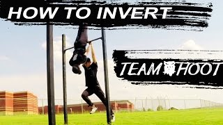 How to Invert Part 1 Swunch   New Pole vault vlog 09