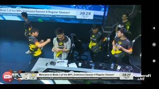 LIVE MPL SEASON 4 - ONIC VS GFLIX - MOBILE LEGEND INDONESIA