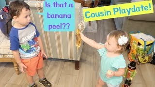 Filming a Youtube Video With Colin | Cousin Playdate!