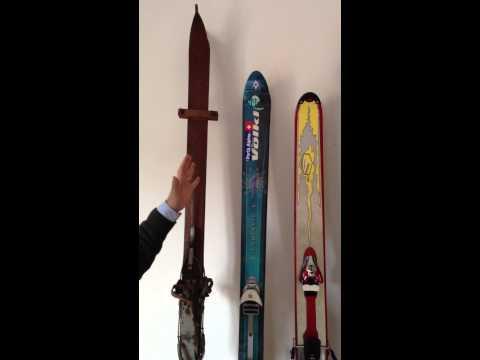 Evoluzione degli sci da neve fresca - prima parte