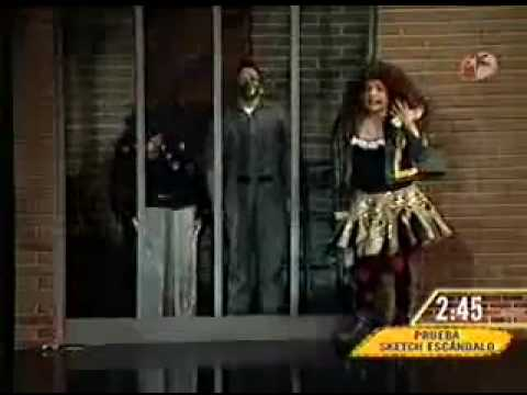 Omar Chaparro Imitando a Gloria Trevi en Hazme Reir...