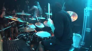 Septicflesh - FOTIS BENARDO Drum cam - live the Music Hall 10/24/2014