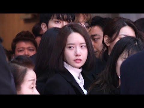 윤아-예리-이특-최시원-동해-은혁 등…'오열' 故 종현 발인 마지막길 배웅