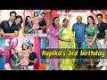 Sridevi Vijaykumar daughuter Rupika 3rd birthday celebrations