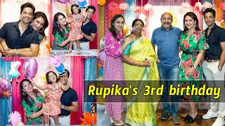 Sridevi Vijaykumar daughuter Rupika 3rd birthday celebrati..