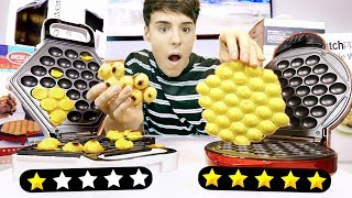 i used 1 STAR vs. 5 STAR rated food products !!!