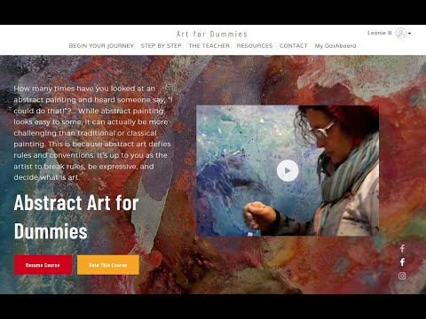 Abstracts for Dummies: How to START an Abstract painting