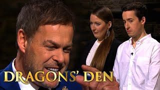 Brother & Sister Duo Leave Dragons Fighting for a Piece | Dragons' Den