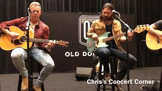 Old Dominion Live Acoustic Set / Q&A