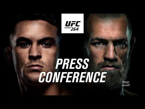 """Najważniejsze Fakty z konferencji UFC 264: Poirier """"Conoroodporny"""" na zagrywki Irlandczyka"""