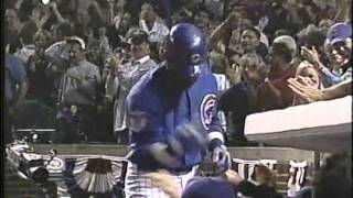 Sammy Sosa HRs in Games 1 & 2 of 2003 NLCS