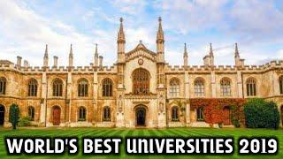 Top 10 Best Universities In The World 2019