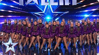 FIRST LOOK: Funky Feet bring some serious SASS to the stage   BGT 2019