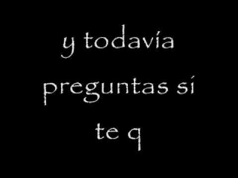 Franco de Vita - Tu de que vas (Letra)