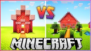 100 Block House vs 1000 Block House!