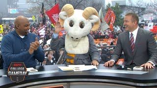 Lee Corso's headgear pick for Army vs. Navy with Charles Barkley | College GameDay