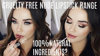 Cruelty Free  DRUGSTORE Lipstick Range | Natural Ingredients + Affordable!