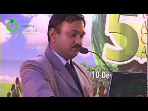 Speech Delivered by Dr. Anurag Singh Rajput - 5th World Ayurveda Congress