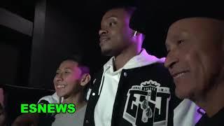 "Errol Spence ""Call Gervonta"" Ask About Strap Season Shirts - EsNews Boxing"