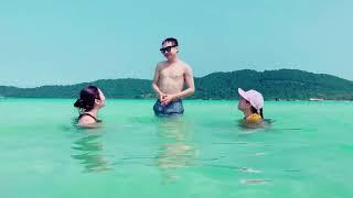 Gia Huy dạy Thiên Thư bơi bá đạo | Gia Huy Su Su Official